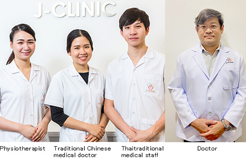 Physiotherapist, Thai traditional medical staff, Doctor